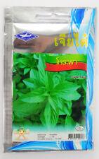 1g. 750 seeds, Approx Sweet Basil Thai Herb Seeds Organic Sweet Basil Thai Basil
