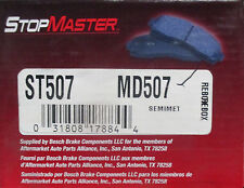 BRAND NEW STOP MASTER MD507 FRONT BRAKE PADS FITS VARIOUS SATURN VEHICLES