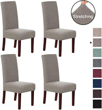 2X Chair Covers Stretch Slipcover Removable Furniture Protector for  00006000 Dining Room