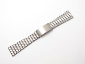 Longines Faltschließe 22mm Uhrenarmband Watch Strap Uhren Bänder