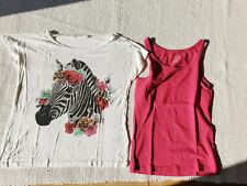2 süsse Shirts Gr. 146/152
