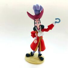 "Disney Jake And The Never Land Pirates Captain Hook 4.5"" Tall PVC Figure"