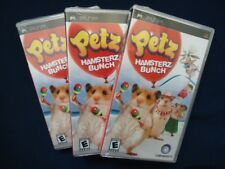 Petz Hamsterz Bunch Lot Of 3 Sony PSP Games >Brand New - Fast Ship - In Stock<