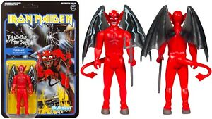 Super 7 Iron Maiden ReAction Figure - The Number of the Beast Limited Edition