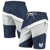 Starter New York Yankees Navy/Gray Rookie Swim Trunk