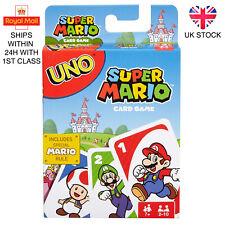 UNO Super Mario Family Card Game Brand New UK Stock