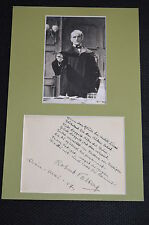 ROBERT VALBERG signed Autogramm In Person 20x30cm Passepartout +1955 OBERST REDL