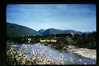 1973 Duplicate Slide of WP California Zephyr at Fremont CA in 1967  aa 3-26b