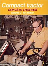 Farm Manual - Compact Tractor Service - Vol2 1stEd 1975 - IH MF MTD (FM277)