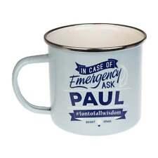 Top Bloke Paul Tin Mug NEW Indoors Outdoors Camping Fishing 71