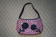 EUC Vera Bradley Frill Collection Coming Up Roses Loves Me Purse Retired
