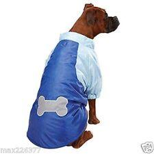 New Casual Canine Nylon Snow Dog Parka Nautical Jacket Coat Fleece XLarge   XL