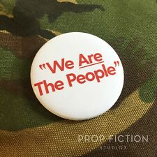 """Taxi Driver - Prop 'We Are The People' 2.25"""" Button Badge / Costume Cosplay"""