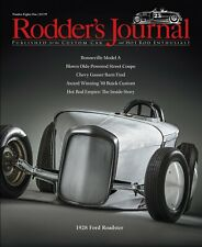 No. 81 RODDER'S JOURNAL 25th Anniversary 1928 Ford Roadster Subscriber Cover B