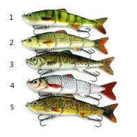 Minnow Fishing Lures Crank Bait Hooks Bass Crankbaits Tackle Sinking Fishhooks