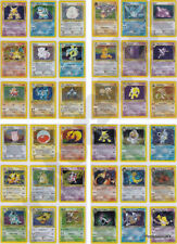 Pokemon Cards VINTAGE OUT OF PRINT Complete Sets 1996 - 2018 (Pre EX GX Lv X)