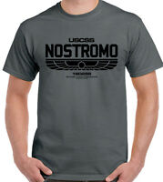 NOSTROMO T-Shirt Mens Alien Movie Prometheus Covenant Ripley Unisex Top SCI FI