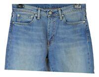 Levi's 511 Herren Jeans Gr W32 L30 Blau Baumwolle Casual KK82