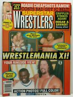 Superstar Wrestlers Wrestling Magazine Back Issue 60 August 1995 Wrestlemania XI