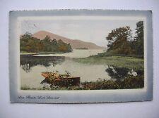 Loch Lomond - at Luss.  Near Balloch, Tarbet etc.   (1914 - Valentine)