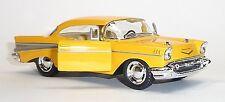 NEU: 1957 Chevrolet Bel Air gelb Sammlermodell ca. 12,5cm Neuware von KINSMART