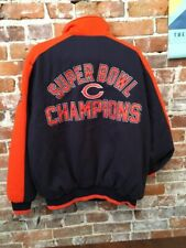 Chicago Bears Superbowl Commemorative Classic Jacket XL New NFL G-III