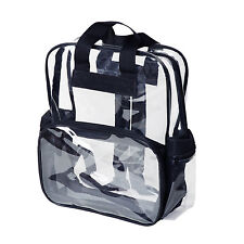 Adult Sized 14+ High School Clear Backpack Transparent Security Book Bags Large