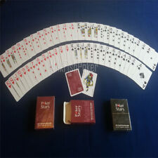 Prestige Plastic Red Deck Bicycle Playing Cards Poker Size USPCC New Dur wer