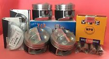 YCP 81.5mm JDM High Comp. Pistons+NPR Rings+ Bearings Acura GSR Type R B16b B18c
