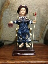"""Nino De Atocha"" Child Jesus  Statue, 7-1/2""H, NEW in Box"