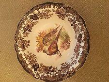 SAMMLERSTÜCK! Royal Worcester Palissy kleine Schüssel mit Wildvögel