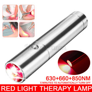 Red Light Therapy Lamp Device 660nm 850nm Infrared Light Therapy for Pain