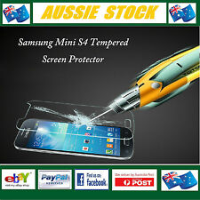Tempered Glass Anti-Scratch Screen Protector for Samsung Mini S4 Rating 9H