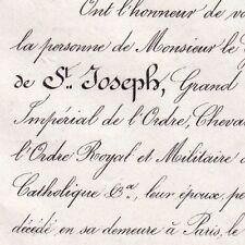 François Anthoine De Saint-Joseph 1866 Général Empire