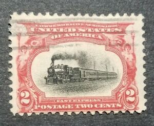 USA Scott #  295 - 2¢ Empire State Express used.