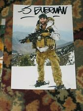 Army Green Beret JASON EVERMAN Signed 4x6 Photo NIRVANA AUTOGRAPH