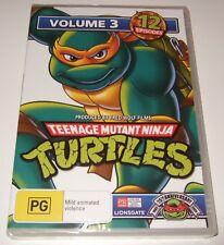 Teenage Mutant Ninja Turtles : Volume 3 (DVD, 2009) new, sealed