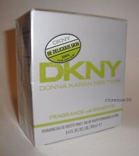 DONNA KARAN DKNY BE DELICIOUS SKIN PERFUME HYDRATING EDT SPRAY 3.4 OZ 100 ML NIB