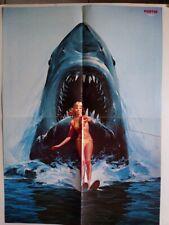Jaws 2 Poster Sweden Dolly Parton Suzi Quatro Motors Steve Hacket Amanda Lear