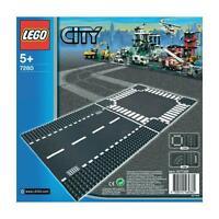 7280 LEGO CITY Treno Mod.RETTILINEO E INCROCIO