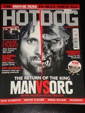 HOTDOG magazine 2003, Viggo Mortensen, Lord of the Rings, Matrix, Dan Aykroyd