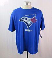 Toronto Blue Jays Men's Striped Baseball T-Shirt Sizes: S, M, L