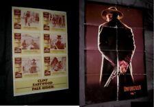 Original PALE RIDER Clint Eastwood Australian LOBBY CARD O/S POSTER + UNFORGIVEN