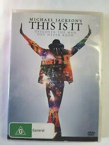Michael Jackson DVD THIS IS IT - Documentary REGION 4