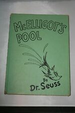 McElligot's Pool by Dr. Seuss 1947 Published by Random House Hardcover