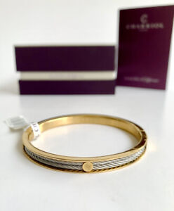 Charriol * Bangle Forever Thin 04-104-1139-7M Gold & Silver Stainless Steel M