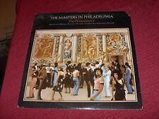 The Masters in Philadelphia:  The Philharmonics   1977  US LP