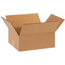 8 X 6 X 2 Flat Corrugated Boxes Brown Shippingmoving Boxes 50 Pieces