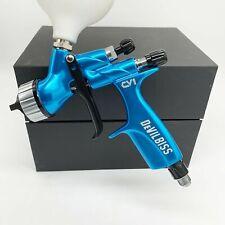 Devilbiss Cv1 Hvlp Spray Gun Blue 14mm Nozzle Car Paint Tool Pistol