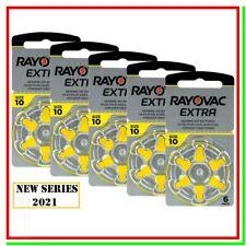 batterie per apparecchi acustici 10 rayovac extra 30 pile per protesi